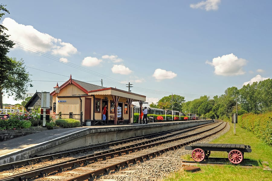 Bodiam Station on the Kent and East Sussex Railway