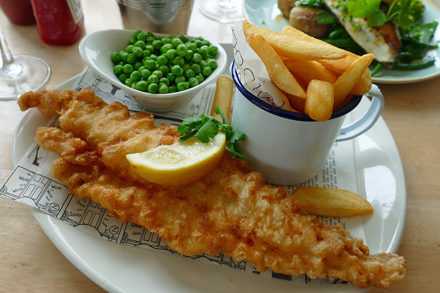 The Beach Deck, the best fish 'n chips in Eastbourne, East Sussex