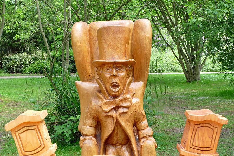 Mad Hatter's Tea Party, Hotham Park, Bognor Regis, West Sussex, England