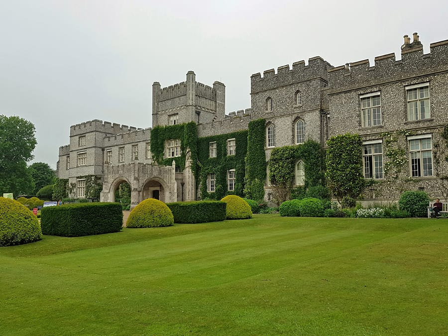 West dean House, near Chichester, West Sussex