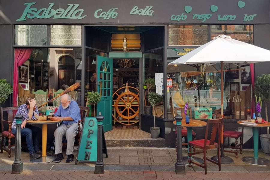 Isabella, a great Turkish restaurant in Hastings old town, East Sussex