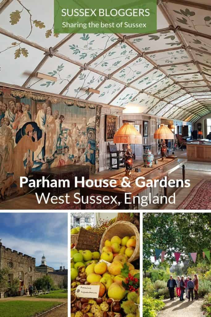 Parham House & Gardens #WestSussex #Sussex #England #CountryHouse #Gardens