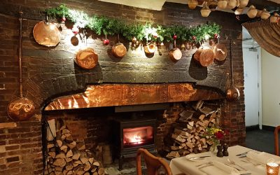 Christmas at The Spread Eagle, Midhurst, West Sussex