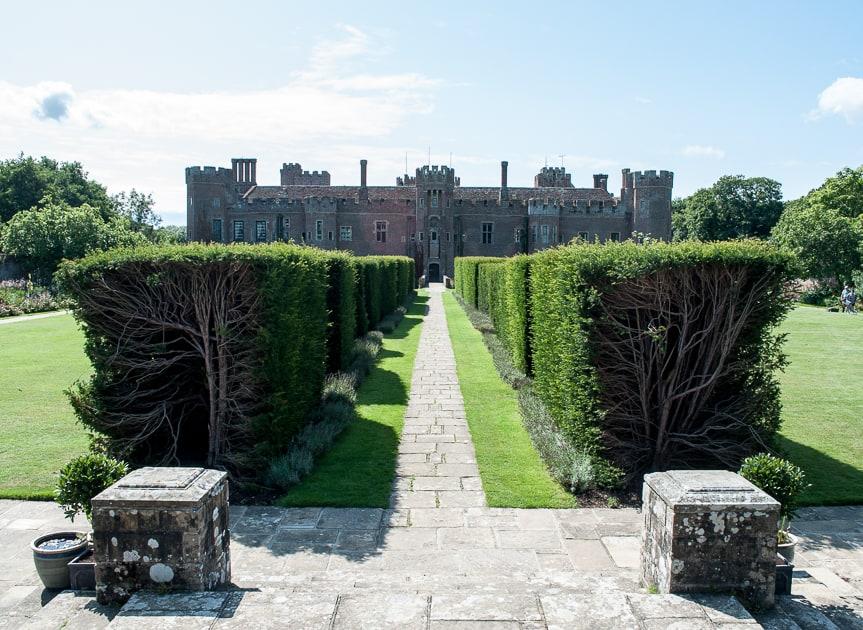 Elizabethan Garden at Herstmonceux