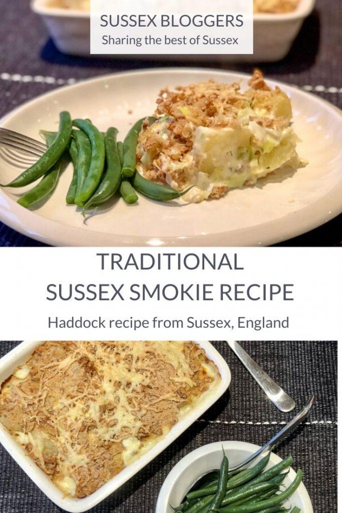 Sussex Smokie Recipe - traditional Sussex fish dish