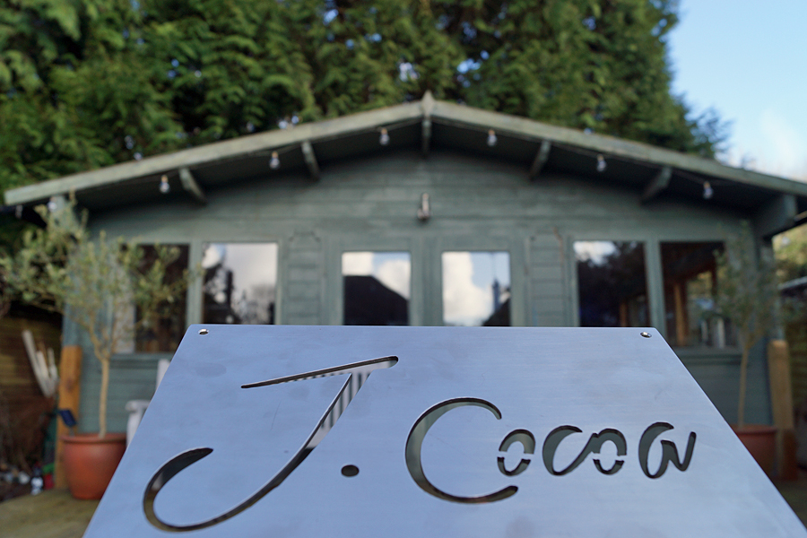 J Cocoa's cabin in West Sussex
