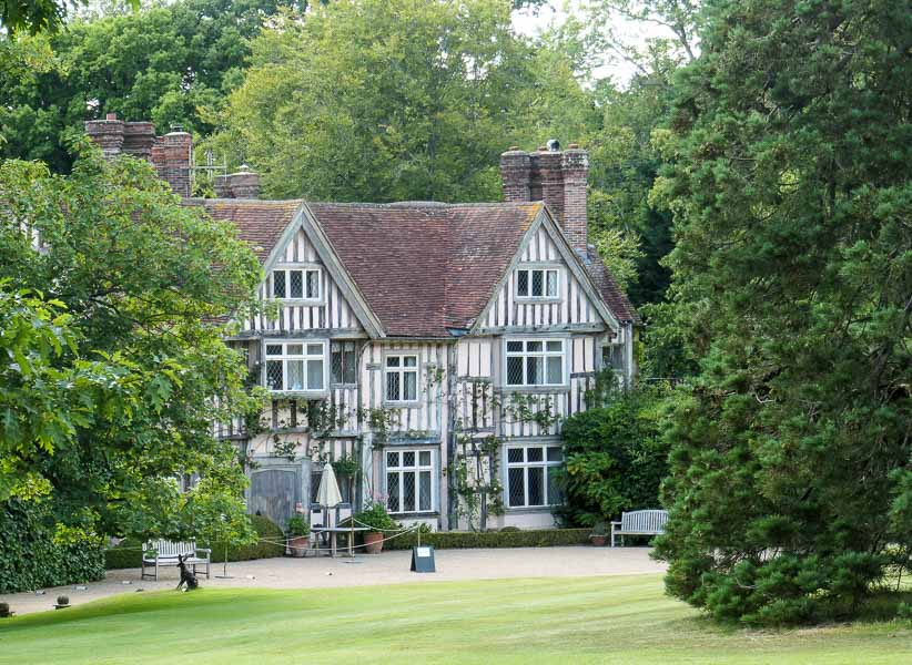 Pashley Manor tudor house, East Sussex