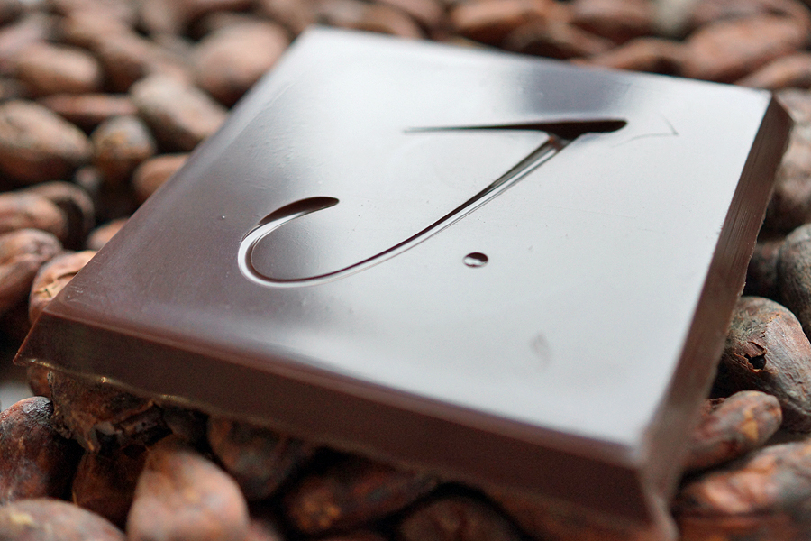 J Cocoa bean to bar chocolates from West Sussex