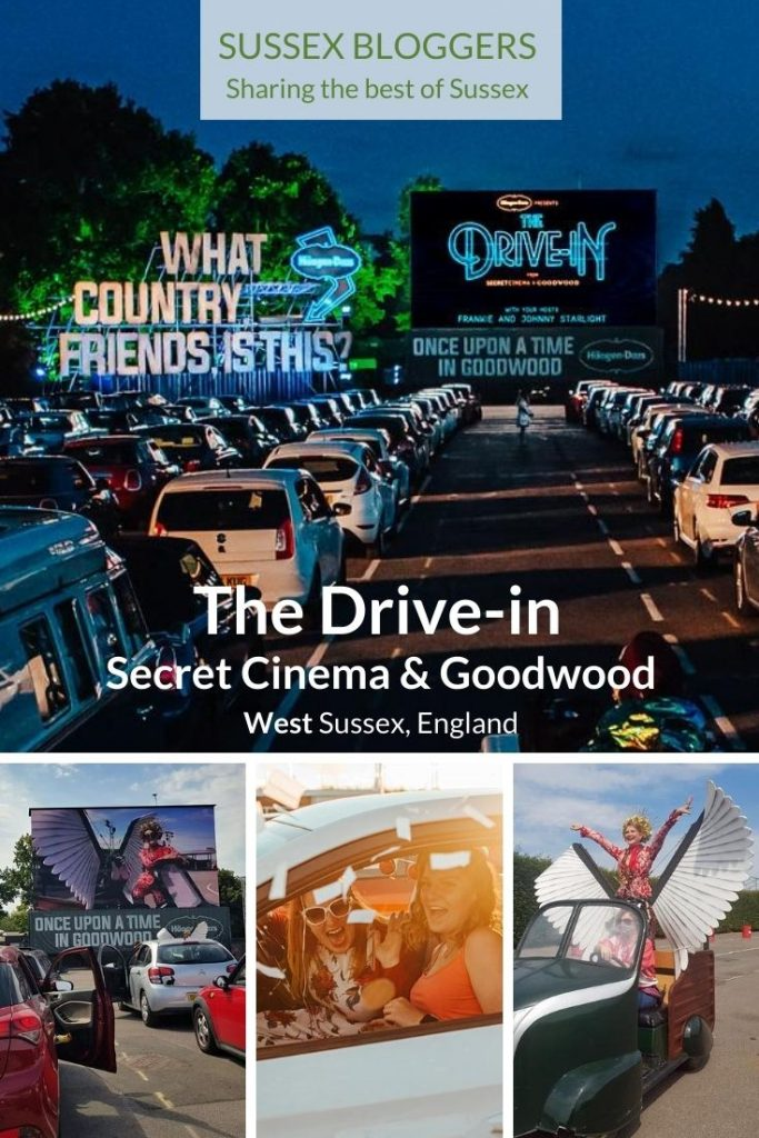 Secret Cinema's Drive-in at Goodwood near Chichester