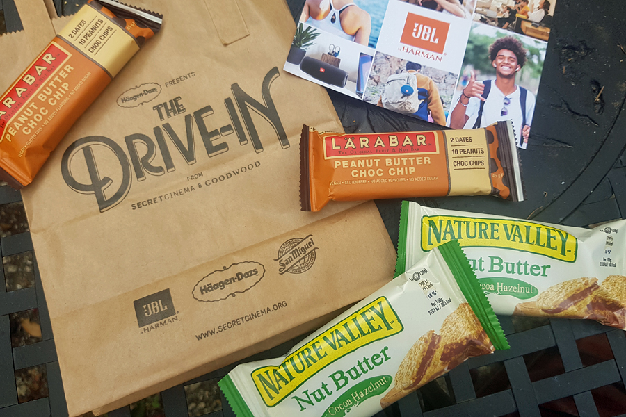 Secret Cinema Drive-in goody bag
