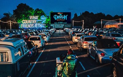 Secret Cinema's Drive-in at Goodwood in West Sussex